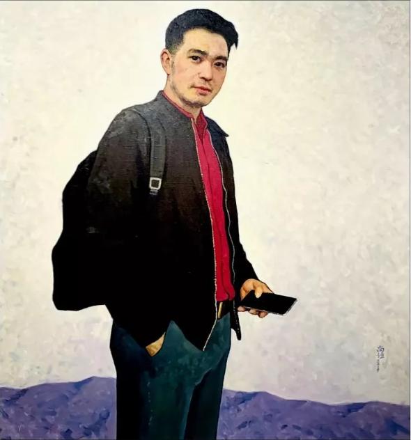 靳尚谊  《追梦人》 100cm×95cm  布面油画